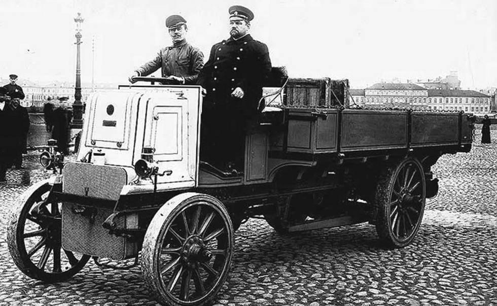 Царские грузовозы: первые грузовики дореволюционной россии