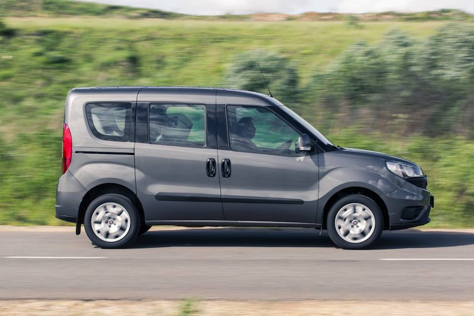 Fiat doblo - обзор и технические характеристики