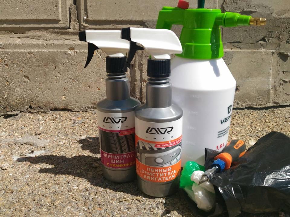 Чем отмыть двигатель от масла и грязи в домашних условиях