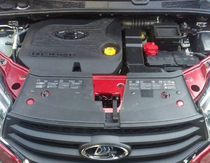Моторы на Lada Хray:виды и характеристики