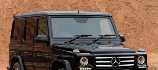 Mercedes gelandewagen, выпускаемый с 1979 года, представил новую модель 2018 года