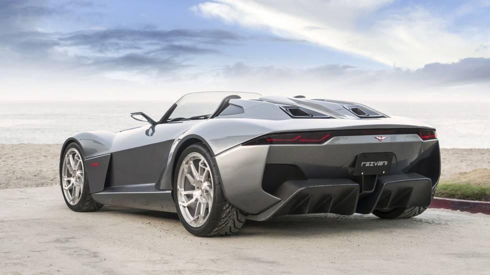Rezvani motors официально представили внедорожник под названием «танк»
