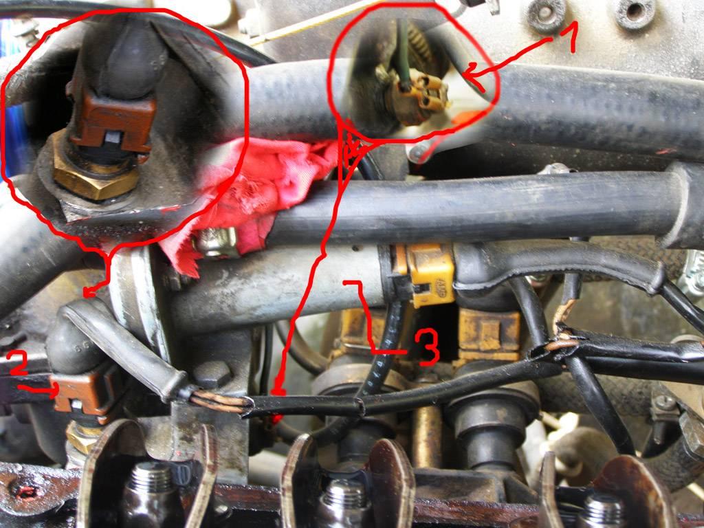 Стук в двигателе на горячую