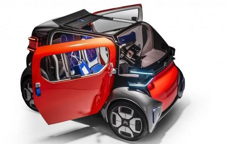 Электромобиль citroen ami one concept: внешний вид, интерьер и управление, технические характеристики, использование   автомалиновка