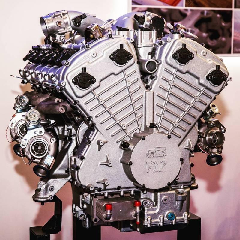 Российский мотор v12 для «кортежа» президента: все подробности