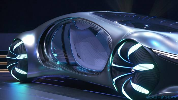 Mercedes-benz представил автомобиль будущего vision avtr