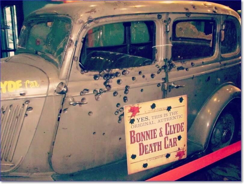 Машина смерти: ford v8 кровавой парочки бонни и клайд