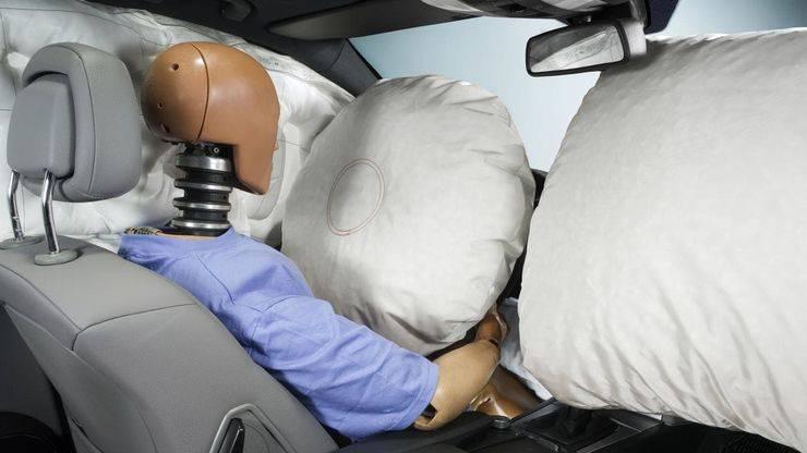 Подушки безопасности – назначение, устройство, принцип действия, условия срабатывания