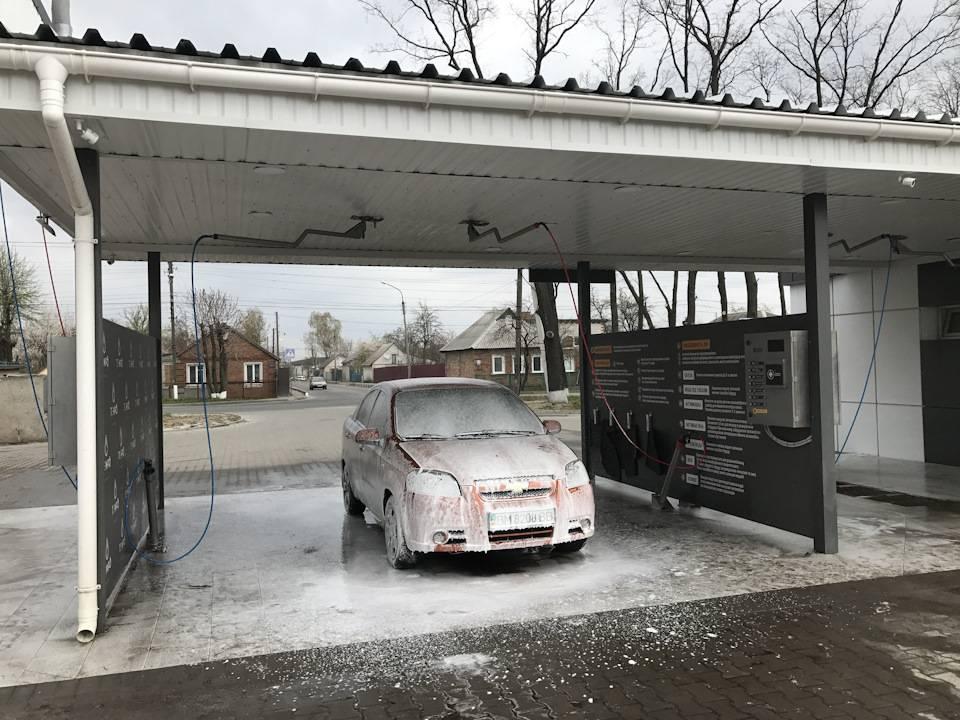 Мойки самообслуживания: как быстро помыть машину самому