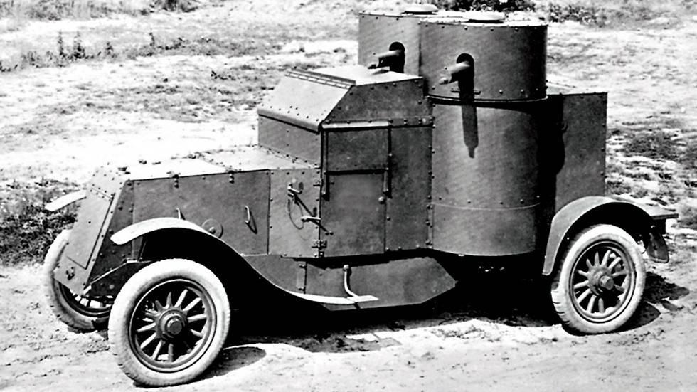 Первые автомобили российской империи