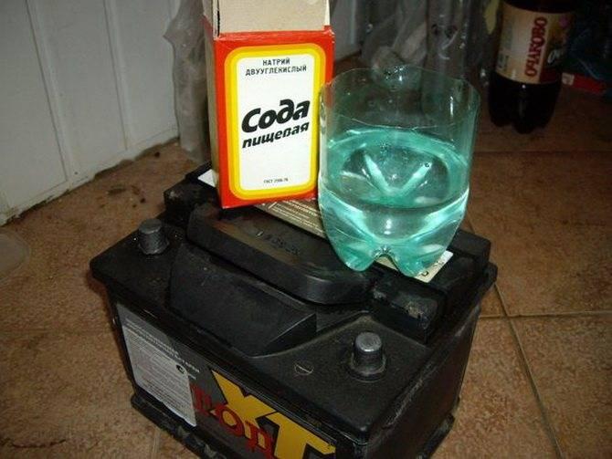 Правильная замена электролита в аккумуляторе