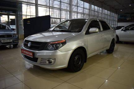 Седан geely gc6 на российском рынке