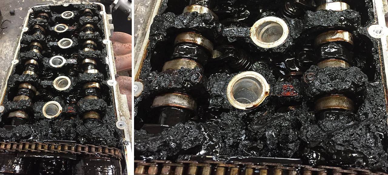 Выясняем почему масло в двигателе быстро чернеет
