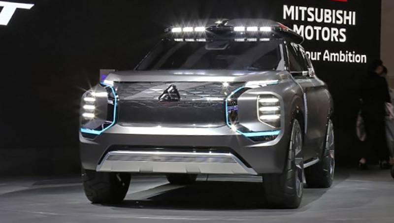 Шанхайский автосалон 2019: mitsubishi представил концепт e-yi concept
