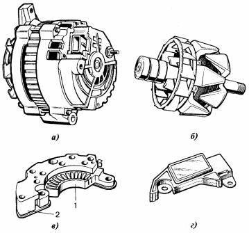Реле регулятора напряжения генератора, где находится, схема замены и подключения своими руками, устройство и принцип работы