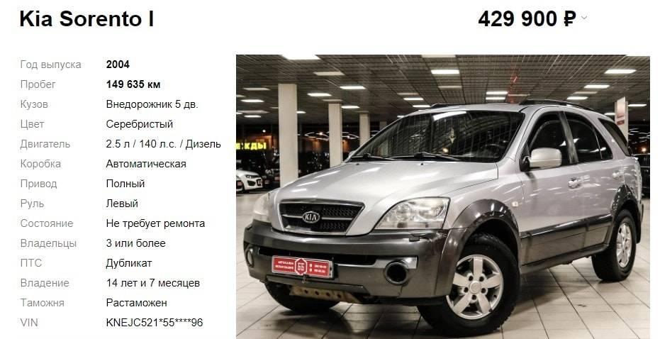 Kia sorento 2.4, 2.5, 3.5 реальные отзывы о расходе топлива: бензина и дизеля