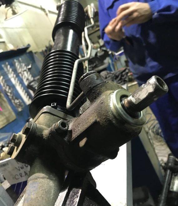 Рулевая рейка: устройство, неисправности, диагностика и ремонт рулевых реек