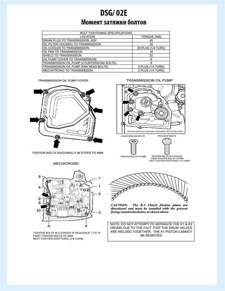 Мехатроник дсг: как работает, функции, ремонт