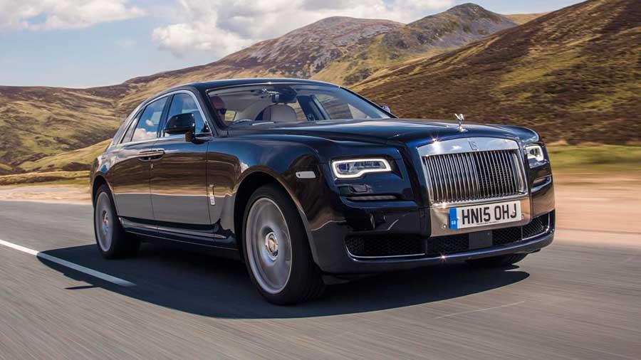Rolls royce ghost — обзор роскошного авто   движение24