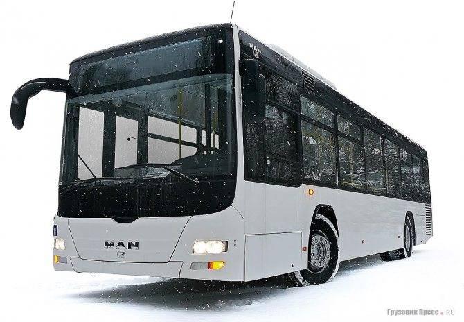 Городской автобус man lion's city т a78