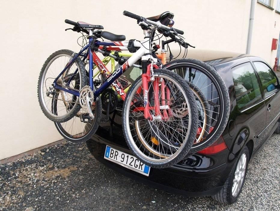 Перевозка велосипеда на автомобиле — сайт для велосипедистов
