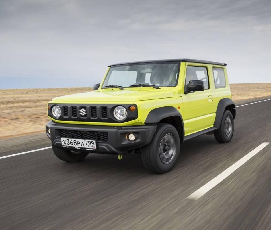 Тест драйв Suzuki Jimny – перевернуть невозможно