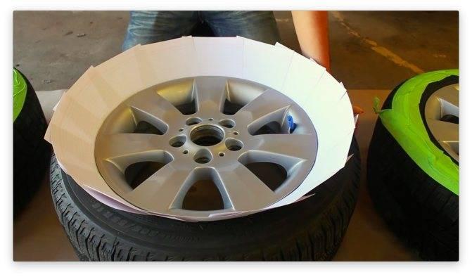 Покраска дисков своими руками   auto-wiki