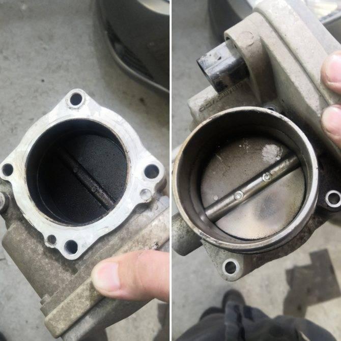 Чистка дроссельной заслонки - частые ошибки при очистке дроссельного узла своими руками — автомобильный портал