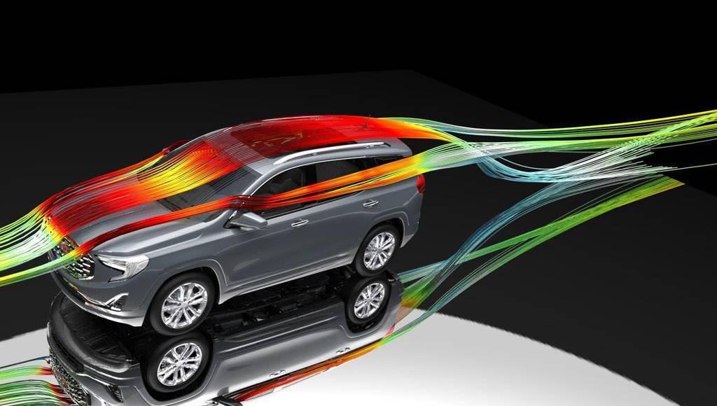 Аэродинамика автомобиля, улучшение за счет выбора аэродеталей