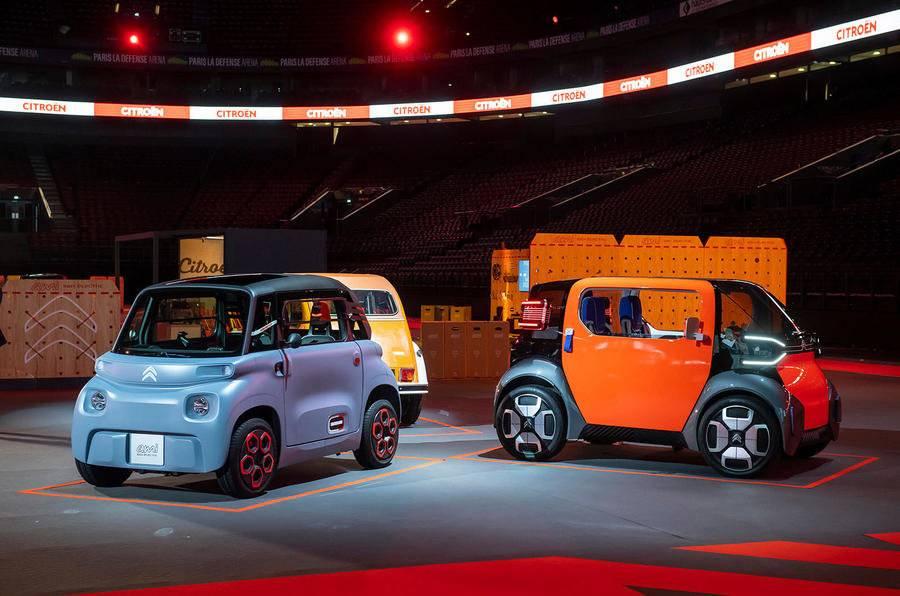 Citroën ami – 100% электромобиль
