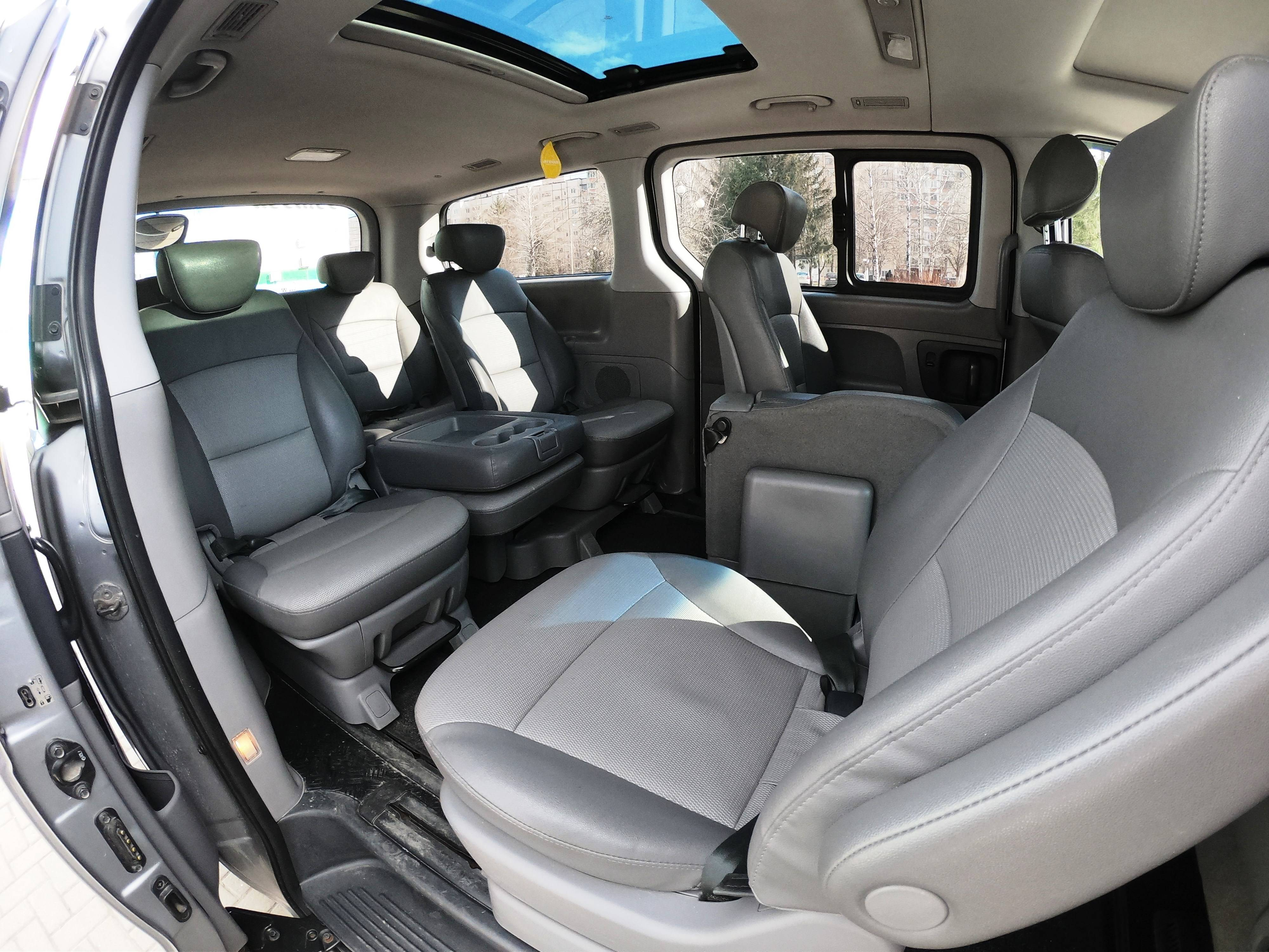 Обзор Hyundai H-1: минивэн или дом на колесах