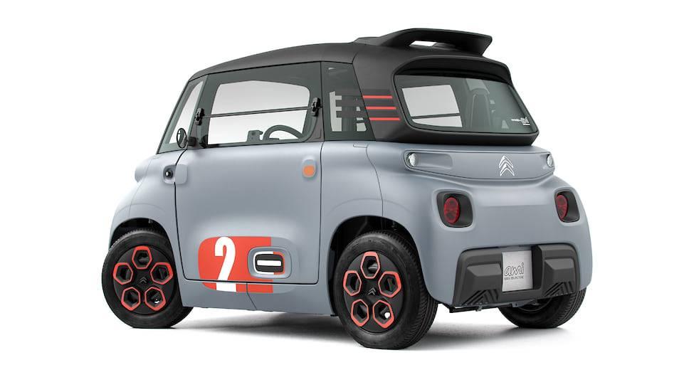 Citroen представит новый электромобиль ami one concept на женевском автосалоне 2019 года