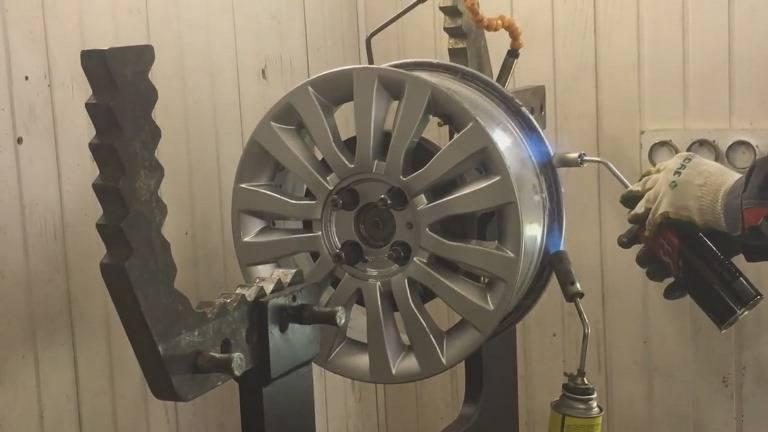 Можно ли ремонтировать литые диски?