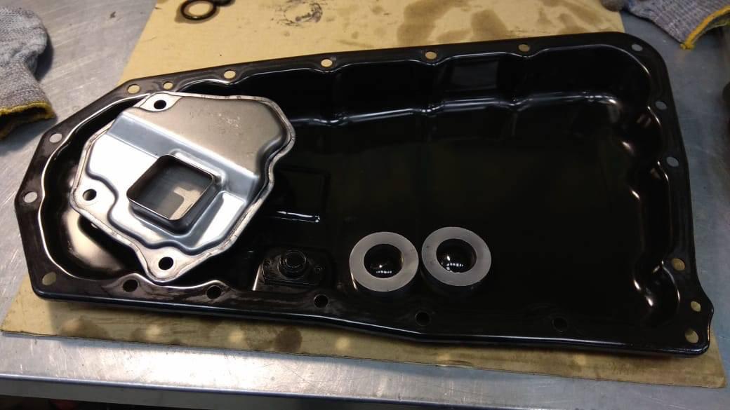 Замена масла в коробке вариаторе митсубиси аутлендер 2.0 своими руками видео