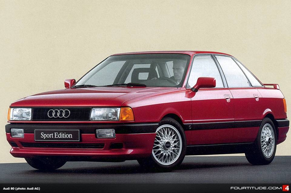 Audi 80 B3 сегодня: в чем сила, брат?