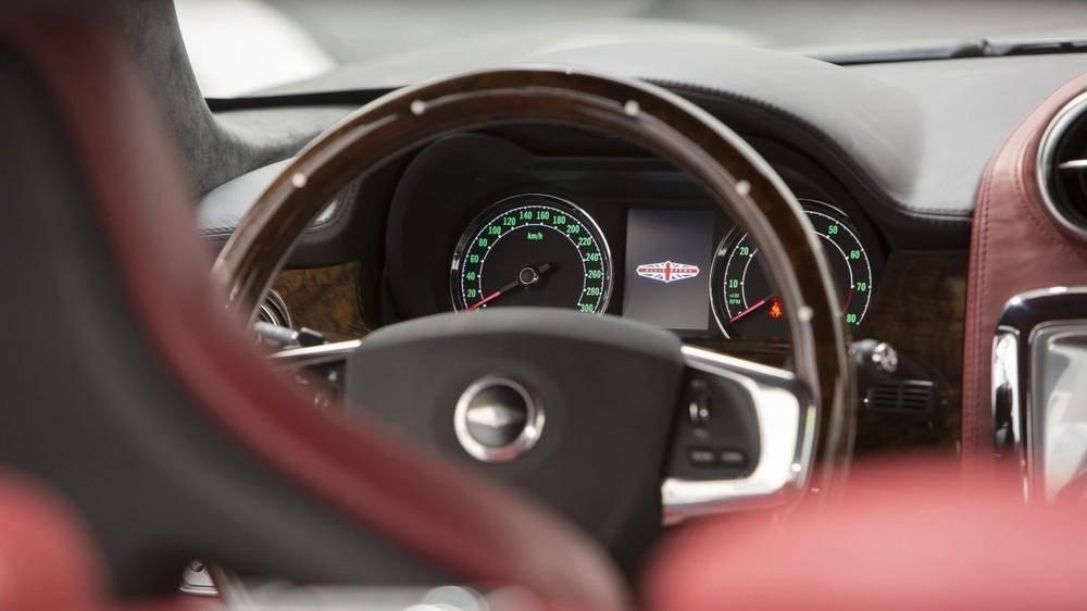 Американский вариант ретро-спорткара speedback gt дебютировал в калифорнии  - «автоновости» » авто - новости