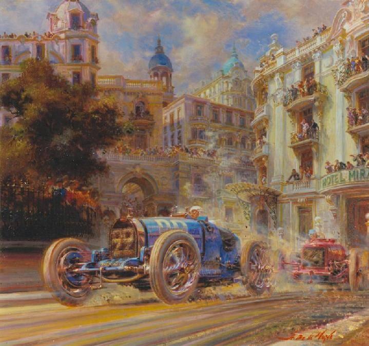 Автомобиль как холст для рисования. проект bmw art car в сотрудничестве с джеффом кунсом (jeff koons)