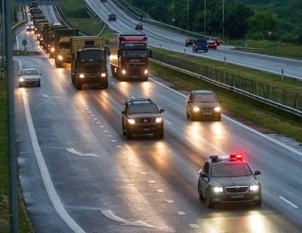 Балльная система в правилах дорожного движения польши