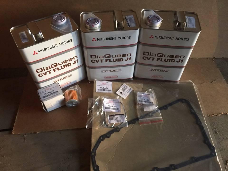 Периодичность замены масла в вариаторе аутлендер 3. меняем масло в вариаторе mitsubishi outlander xl сами. последствия несвоевременной замены