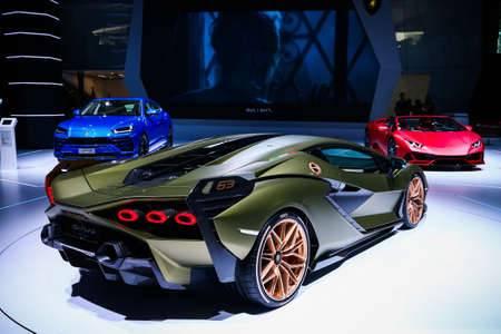 Lamborghini представила суперкар sian с гибридным двигателем - 4pda