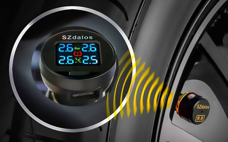 Система tpms мониторинга давления в шинах — что это