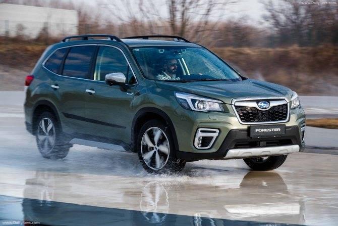 Subaru forester и outback