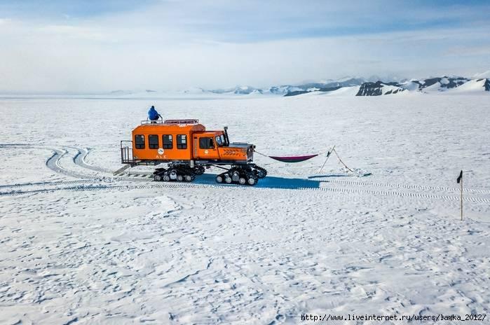 Вокруг антарктиды за 52 дня - левобережный навигатор