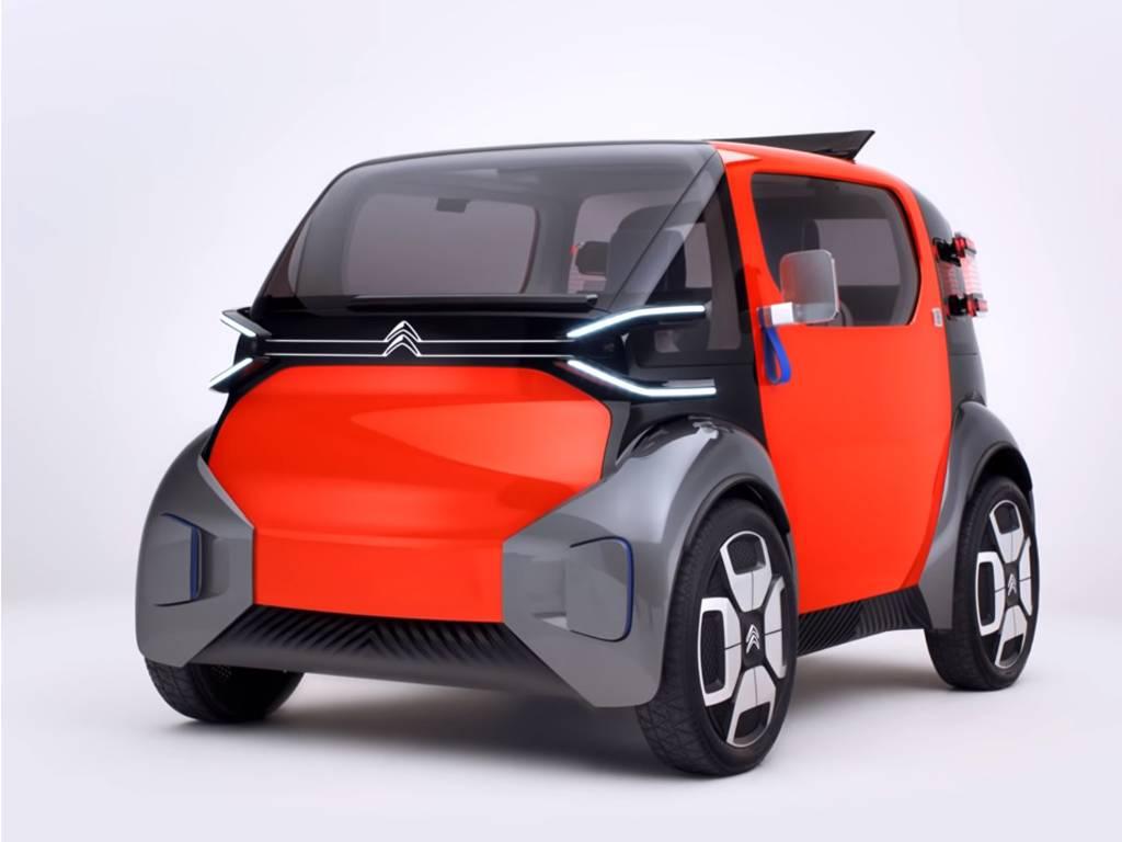 Citroen ami: серийный электромобиль за 6000 евро