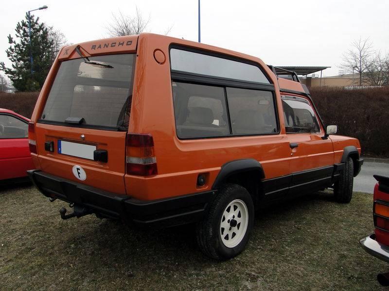 Talbot matra rancho (c 1979 по 1984) — технические характеристики автомобиля