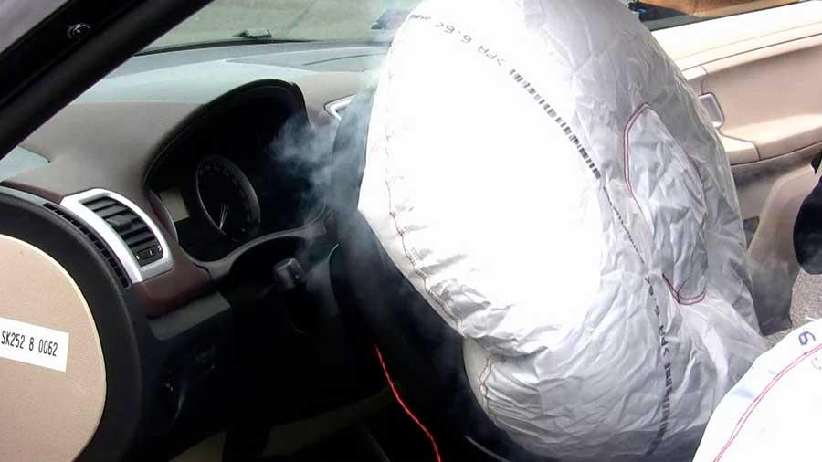 Подушка безопасности: виды,устройство,работа.