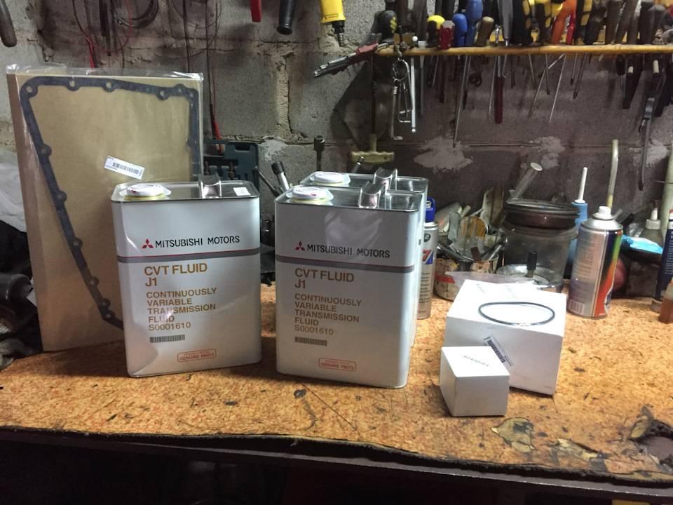 Замена масла в вариаторе митсубиси аутлендер xl. замена масла вариатора митсубиси аутлендер xl