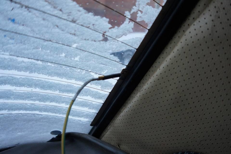 Ремонт обогревателя заднего стекла автомобиля своими руками
