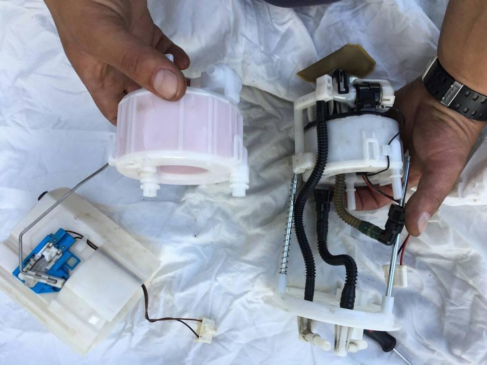 Топливный фильтр на киа соренто: где находится, замена - kianova