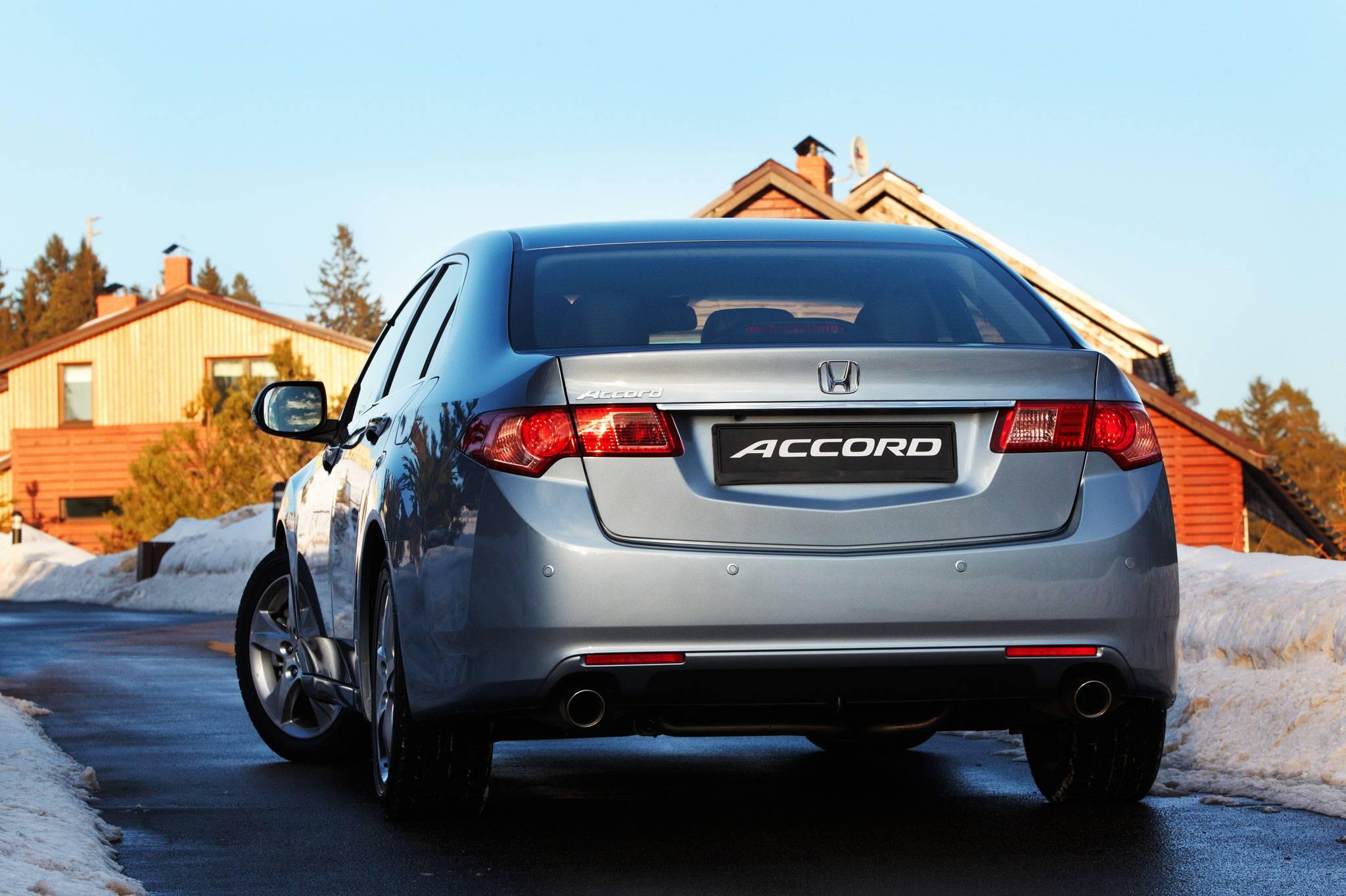 Чем подкупает, а чем огорчает Honda Accord VIII